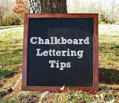 Chalkboard Lettering Tips