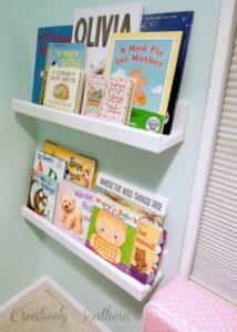 picture ledge shelves