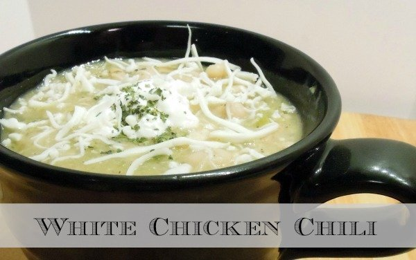 White Chicken Chili In Less Than 30 Minutes