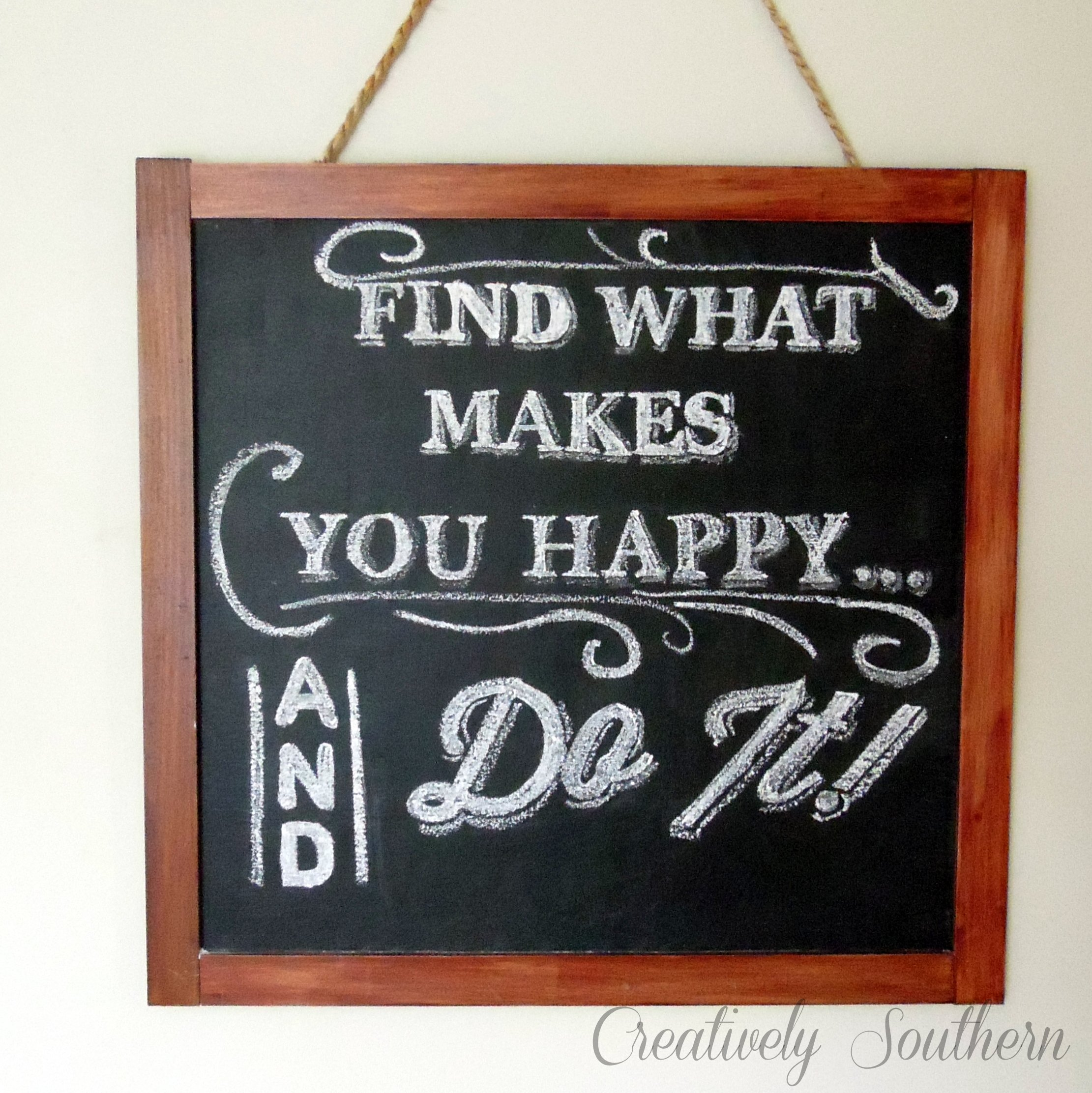 How to Create Chalkboard Art Without Hand-Lettering Skills
