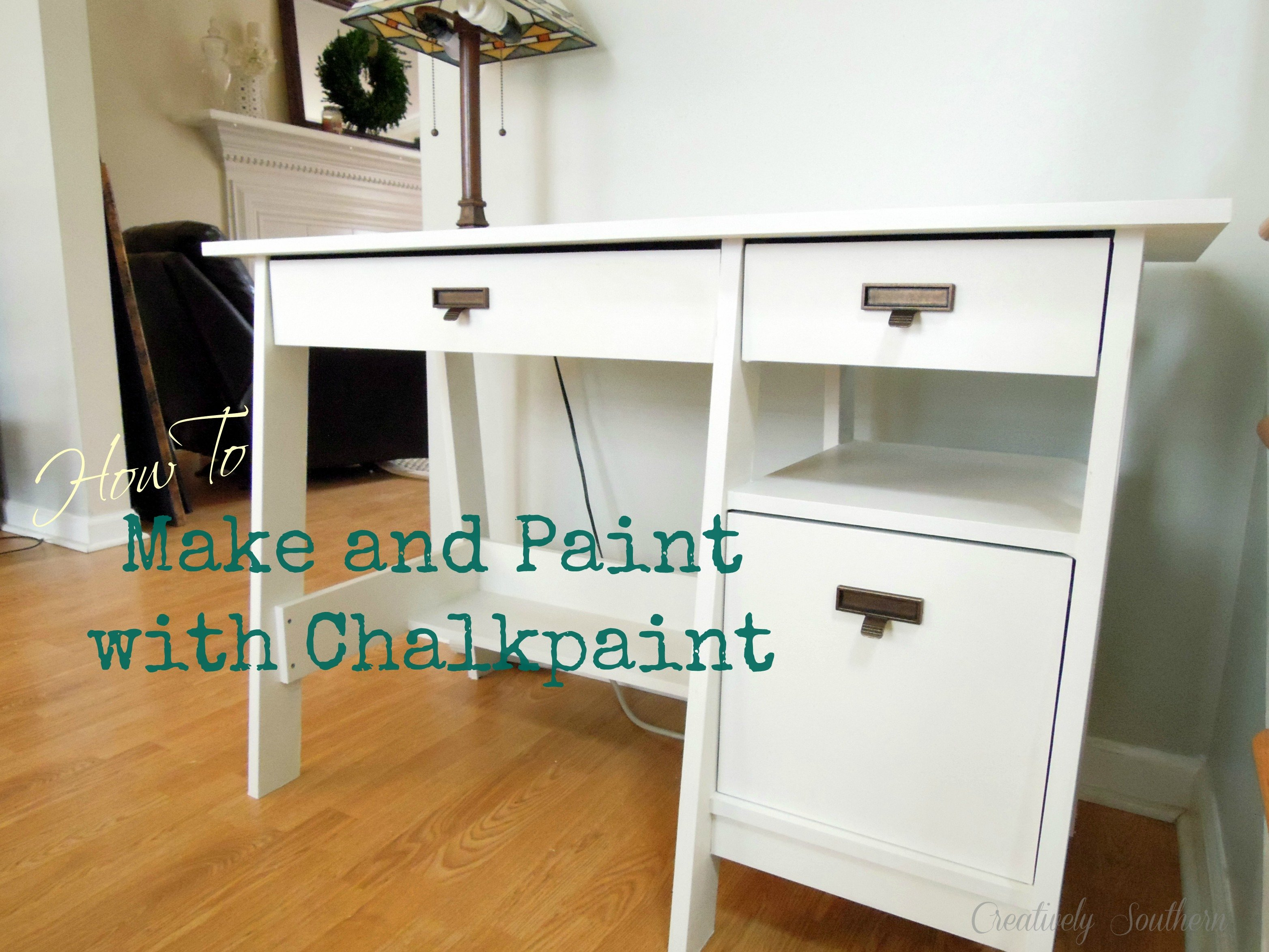 How to Make Chalked Paint