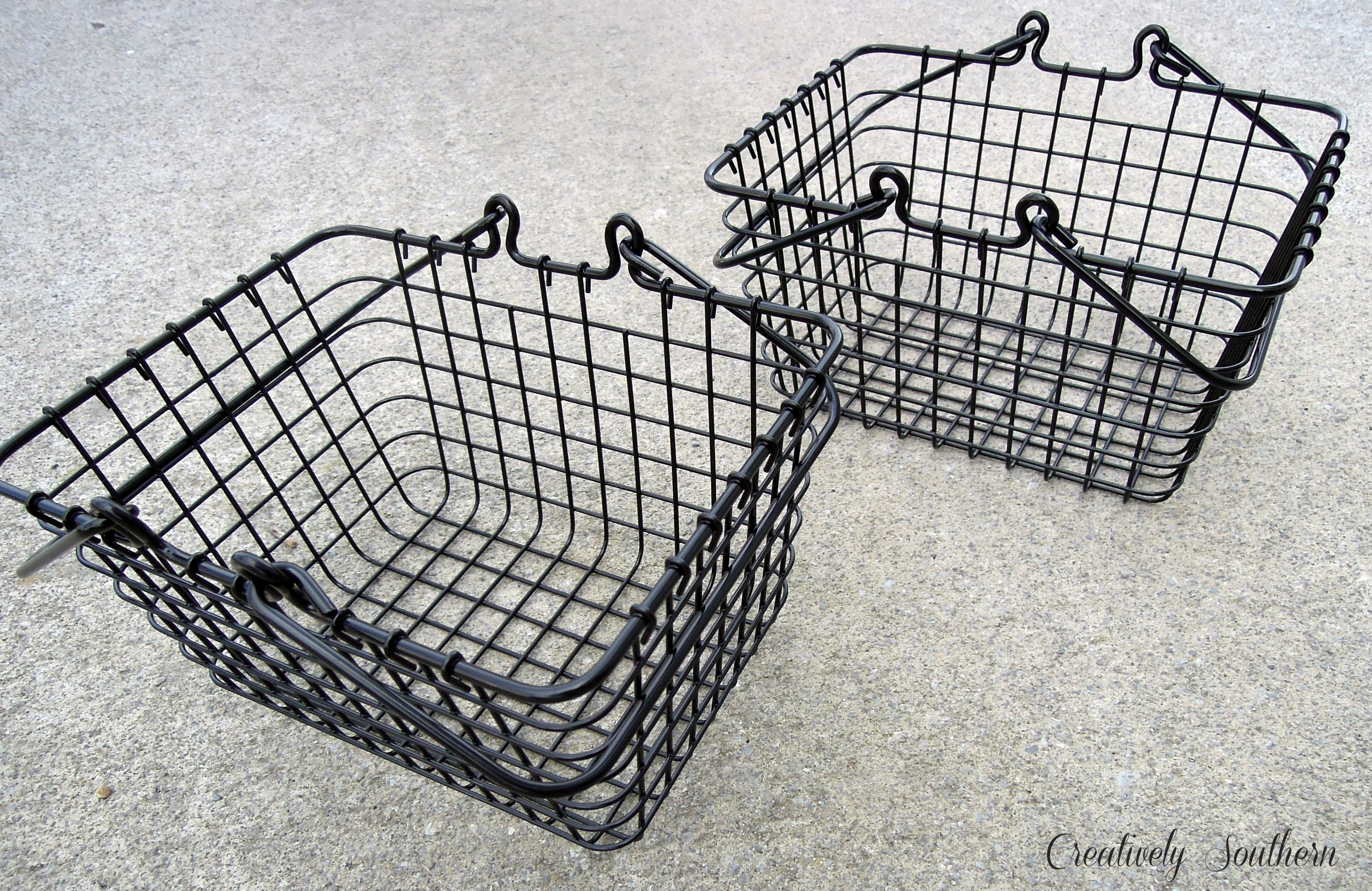 DIY Vintage Wire Baskets for Less!