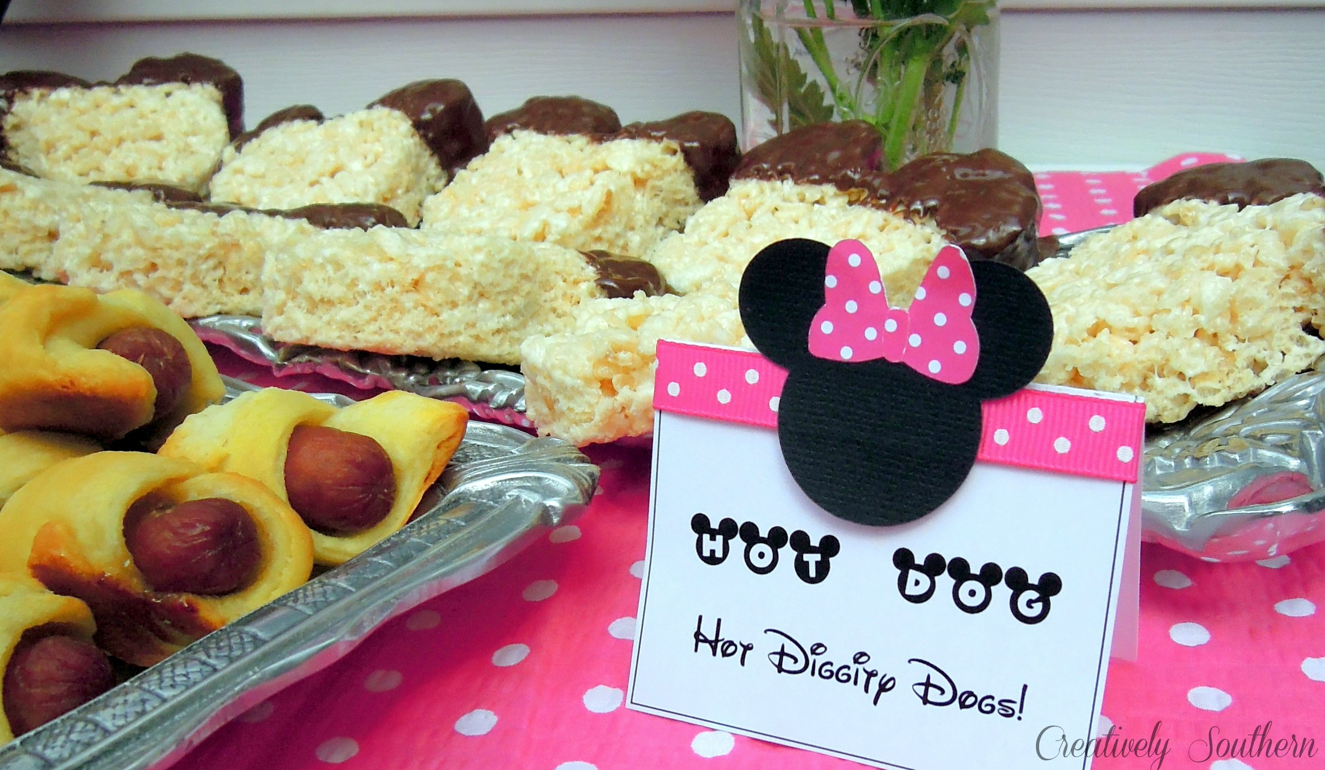 Minnie Mouse Birthday Party Idea