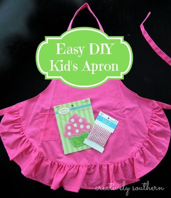Easy DIY Apron for Kids