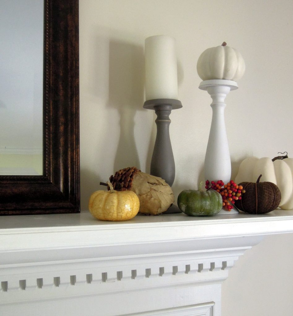 mantel decorations