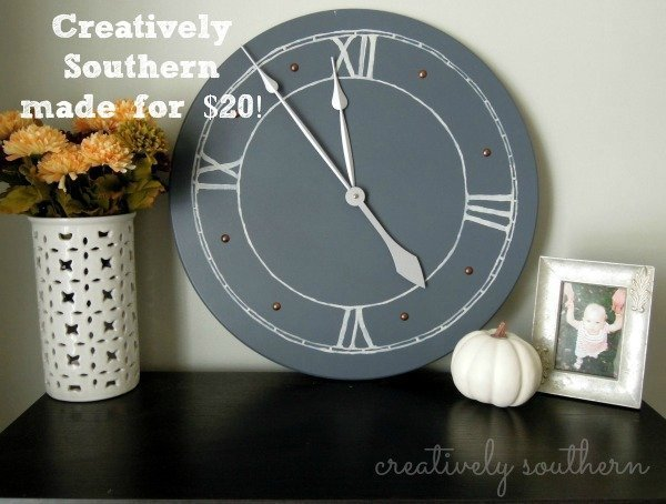 diy-clock- for less