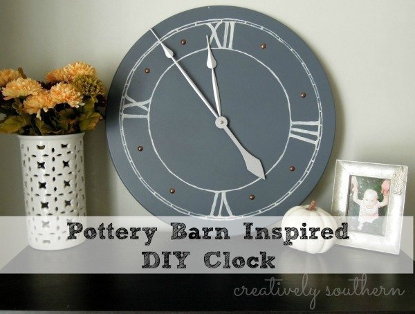 Pottery Barn Knock-Off DIY Clock