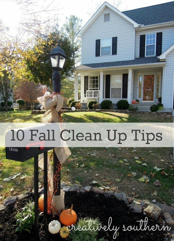 10 Tips For Your Fall Clean Up List